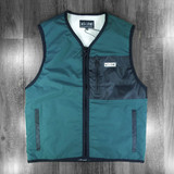 Welcome Clandestine Sherpa Lined Vest - Hunter