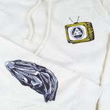 Welcome Beldam Hooded Sweatshirt - Bone