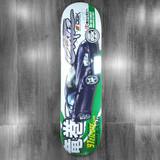 """DGK Ortiz Tuner Skateboard Deck - 8"""""""