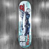 """DGK Vaughn Tuner Skateboard Deck - 8.06"""""""