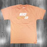 Nike SB Logo T-Shirt - Healing Orange/Amber Brown