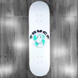 "Quasi Truce White Skateboard Deck - 8.37"""