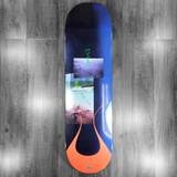 "Quasi Davis Dirt Skateboard Deck - 8.37"""