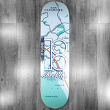 Plan B Sheckler Neighbors Skate Deck - 8.25""