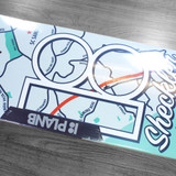 "Plan B Sheckler Neighbors Skate Deck - 8.25"""