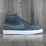 Nike SB Zoom Blazer Mid Shoes - Off Noir/Iron Grey-Off Noir-White