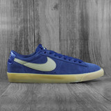 Nike SB Zoom Blazer Low GT Shoes - Midnight Navy/Khaki-Gum Light Brown