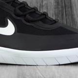 Nike SB Nyjah Free 2.0 Shoes - Black/White-Black