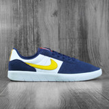 Nike SB Team Classic Premium Shoes - Uni Gold/White-Midnight Navy