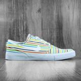 Nike SB Zoom Stefan Janoski Canvas RM Shoes - Sail/White-Sail-White