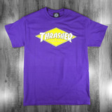 Thrasher Diamond Logo T-Shirt - Purple