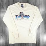 Thrasher Leopard Mag Longsleeve T-Shirt - Sand