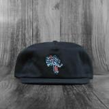 Thrasher Leopard Mag Snapback Hat - Black