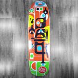"Darkroom Microcosim Shaped Skateboard Deck - 8.62"""