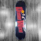 "Deathwish Kersey Black/Red  Skateboard Deck - 8"""