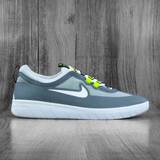 Nike SB Nyjah Free 2.0 Shoes - Smoke Grey/White-Light Smoke Grey