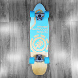 """Element Projects Cruiser Blue Skateboard Complete - 8"""""""
