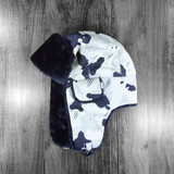 DGK Squadron Bomber Hat - Black/White Camo