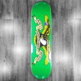 "Anti-Hero Classic Eagle Green  Skateboard Deck - 7.81"""