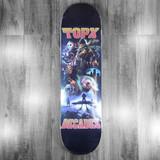 "Terror Planet X Decades Apocolypse Poster Skateboard Deck - 8.25"""