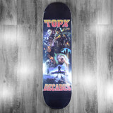 Terror Planet X Decades Apocolypse Poster Skateboard Deck - 8.5""