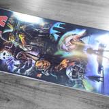 "Terror Planet X Decades Apocolypse Poster Skateboard Deck - 8.5"""