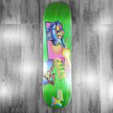 "Terror Planet X Steven Cales Guest Model Skateboard Deck - 8"""