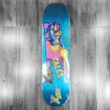 "Terror Planet X Steven Cales Guest Model Skateboard Deck - 8.3"""