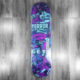 "Terror Planet X Paul Rentler (Kerry Getz) Skateboard Deck - 8"""