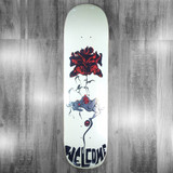 Welcome Lessrach on Bunyip Mid Pearl Bone  Skateboard Deck - 8.25""