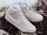 Nike SB Blazer Mid Shoes in Photon Dust/Light Cream colorway are here to dirty up!