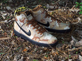 Nike SB Desert Camo Dunk High Shoes are in stock!