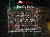 Store Holiday Hours 2019