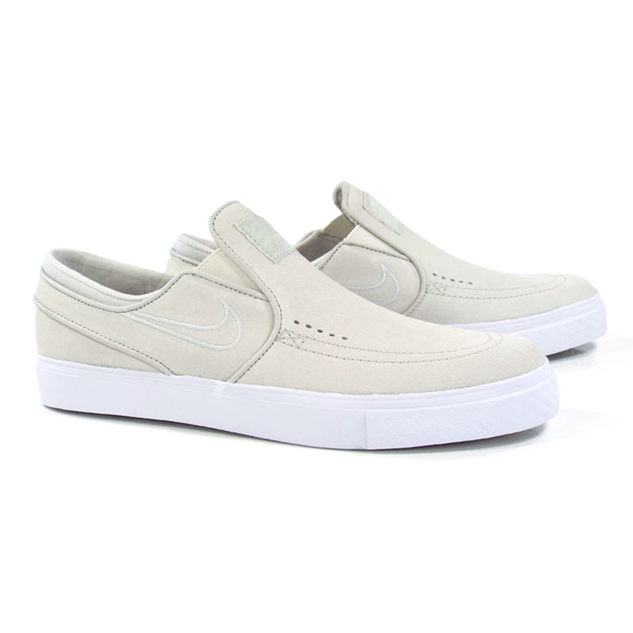 low priced 507c4 99ca5 Nike SB Zoom Stefan Janoski Slip Shoes - White Light Bones-White