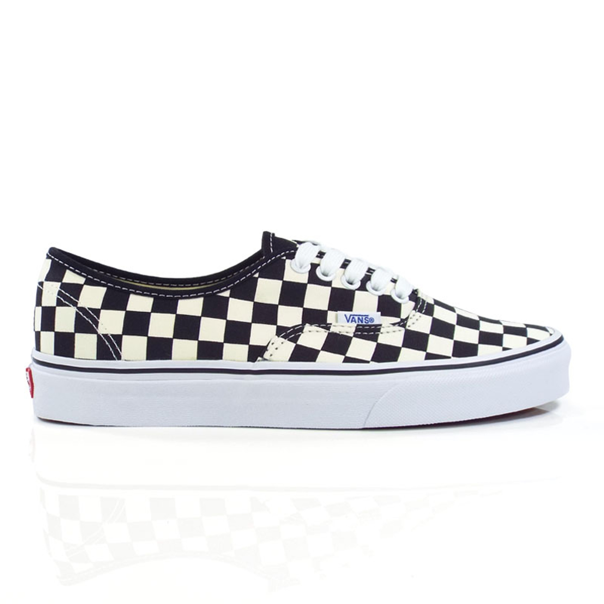 Det bästa första kurs kupongkoder Vans Authentic (Golden Coast) Shoes - Black/White Checker ...