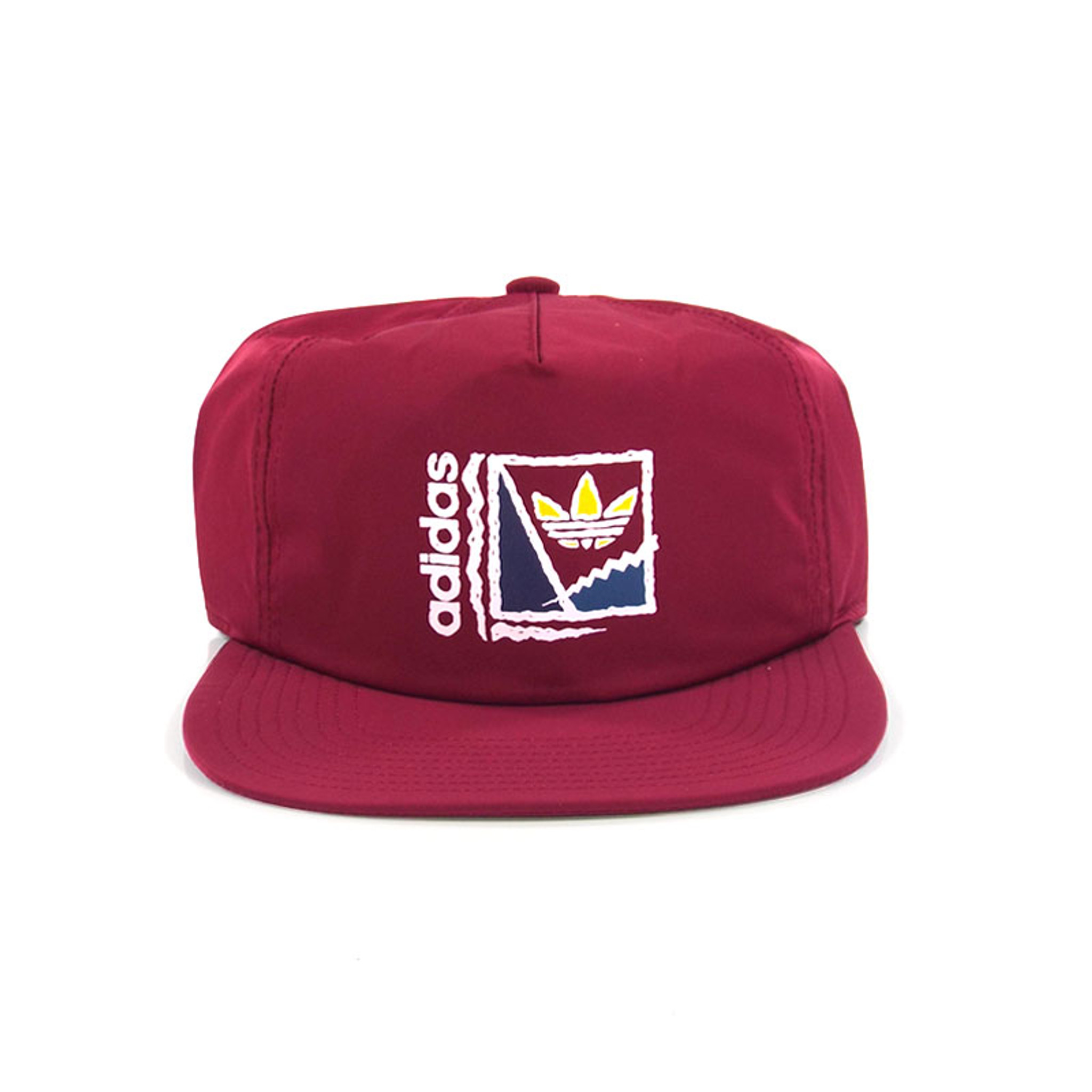 closer at where to buy sale Adidas Court Crusher Strapback Hat - Burgundy