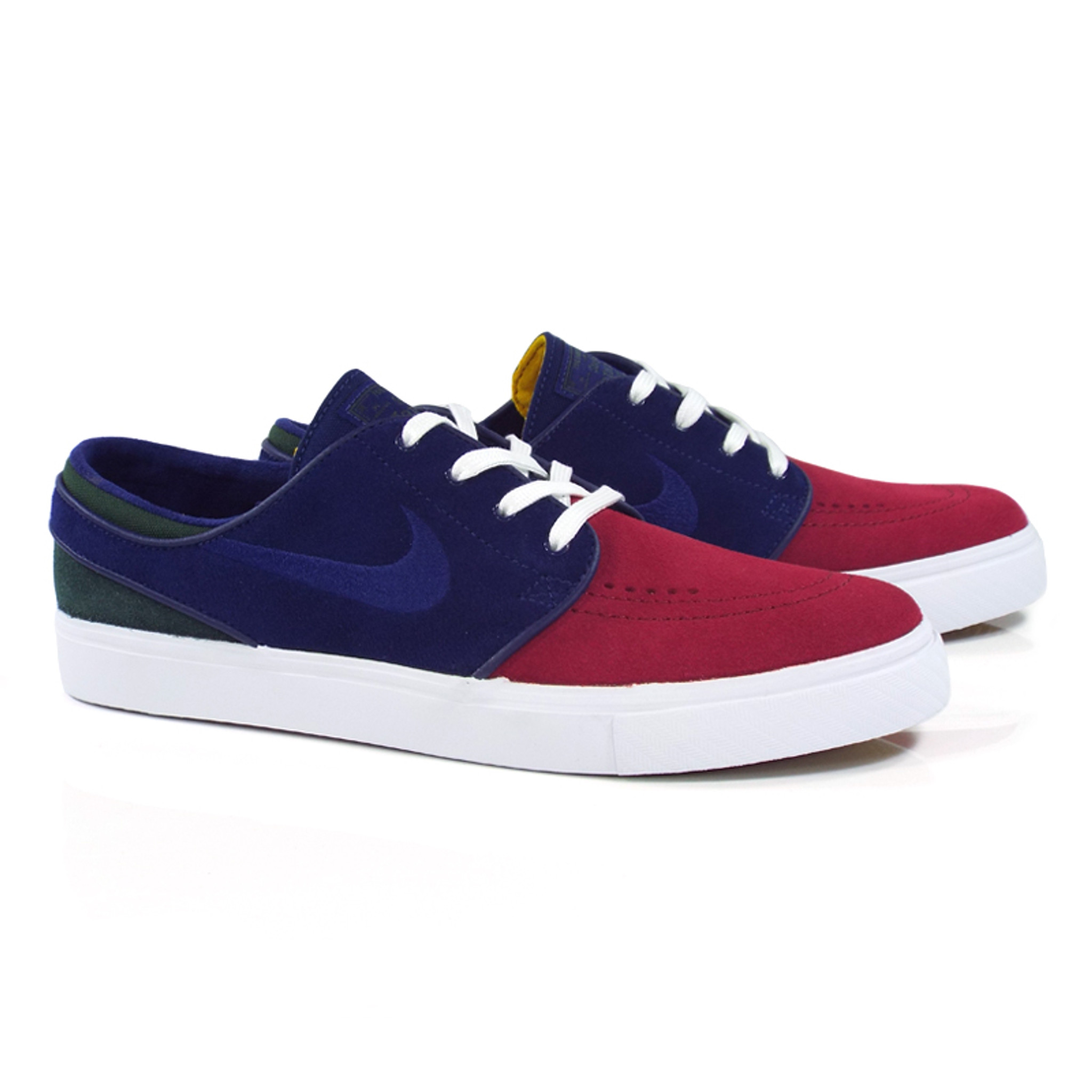 cartel dolor de muelas elefante  Nike SB Zoom Stefan Janoski Shoes - (Yacht Club) Red Crush/Blue Void-White-Midnight  Green - Detroit City Skateboards Co.
