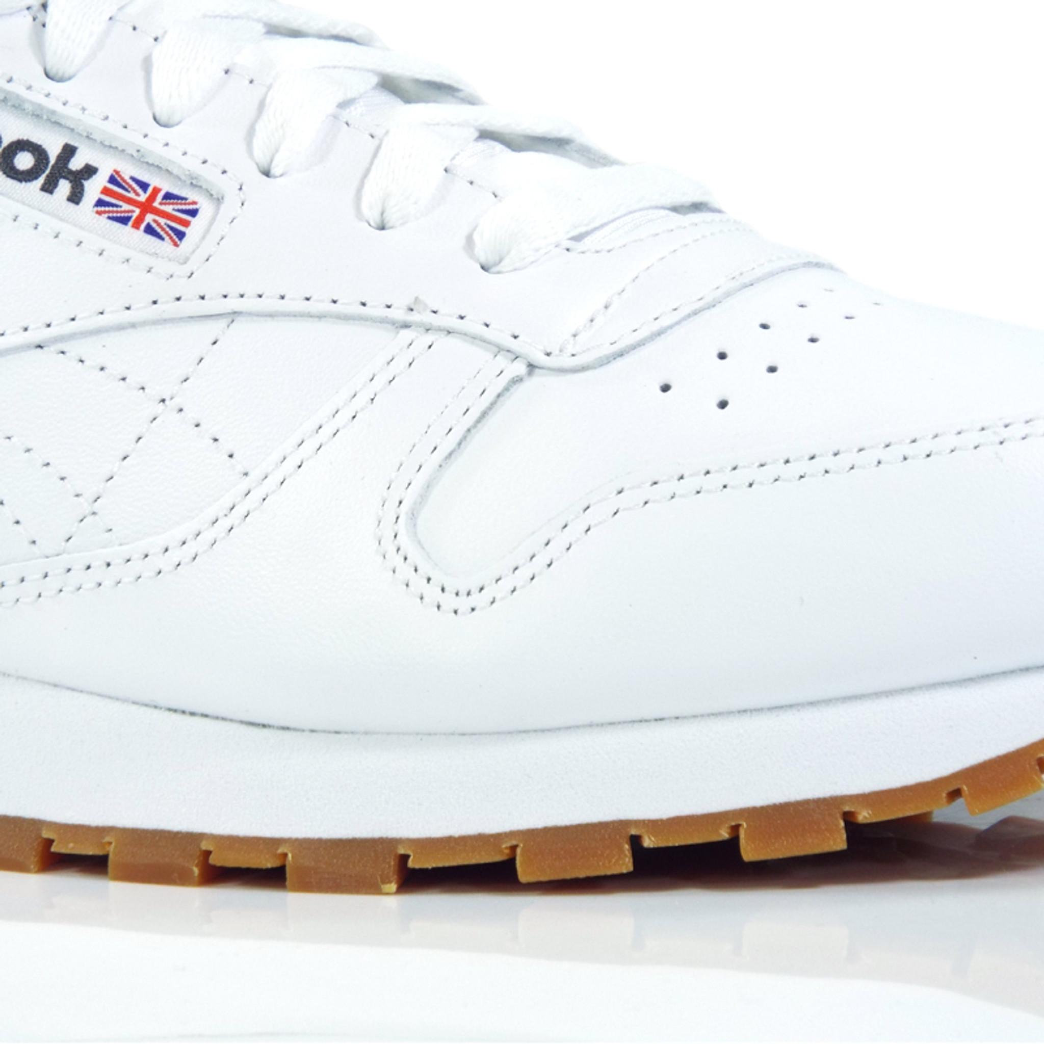 Reebok Reebok Shoes Whitegum Classic Classic Leather