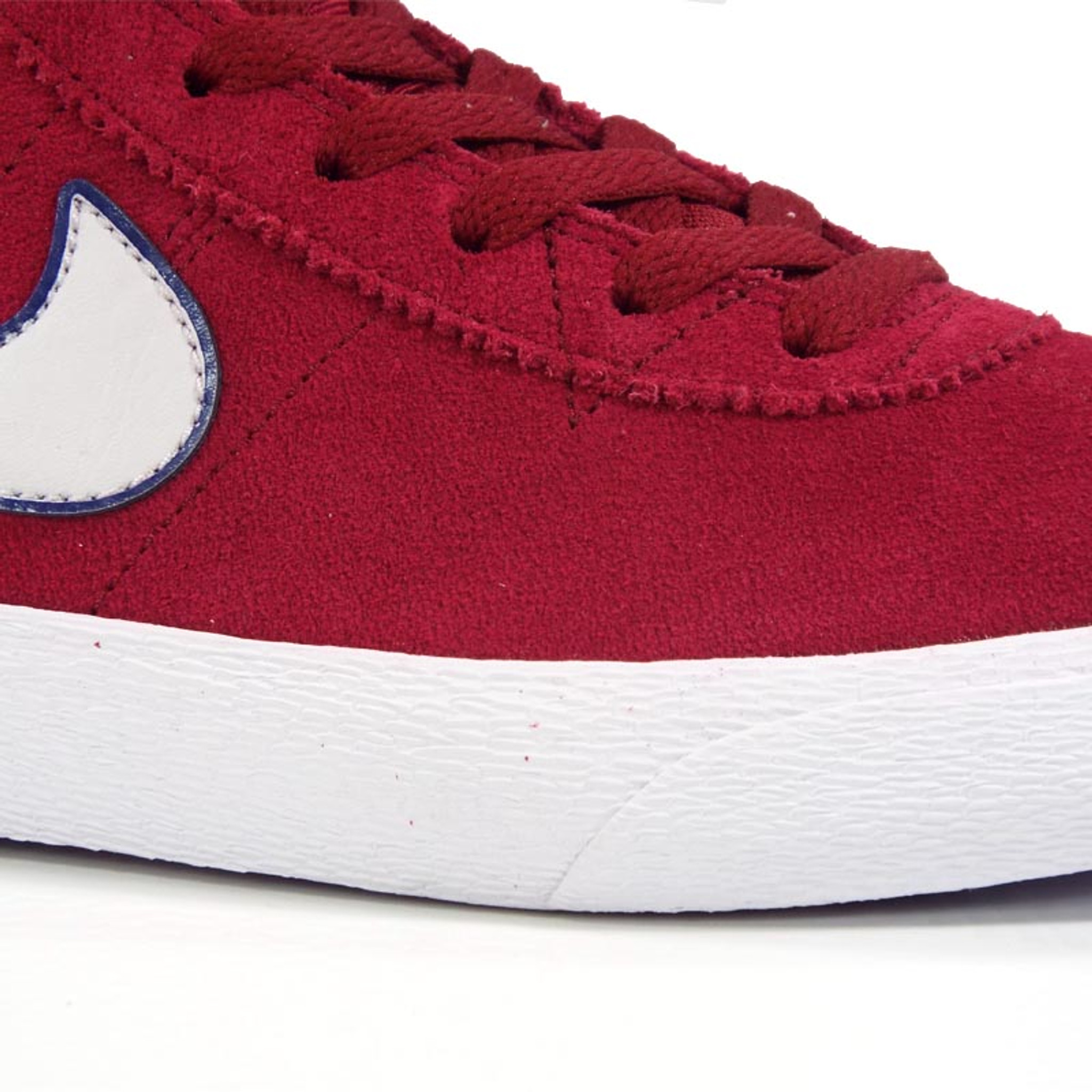 new product f9f28 dad2a Nike SB Women's Bruin HI Shoes - Red Crush/Vast Grey-White