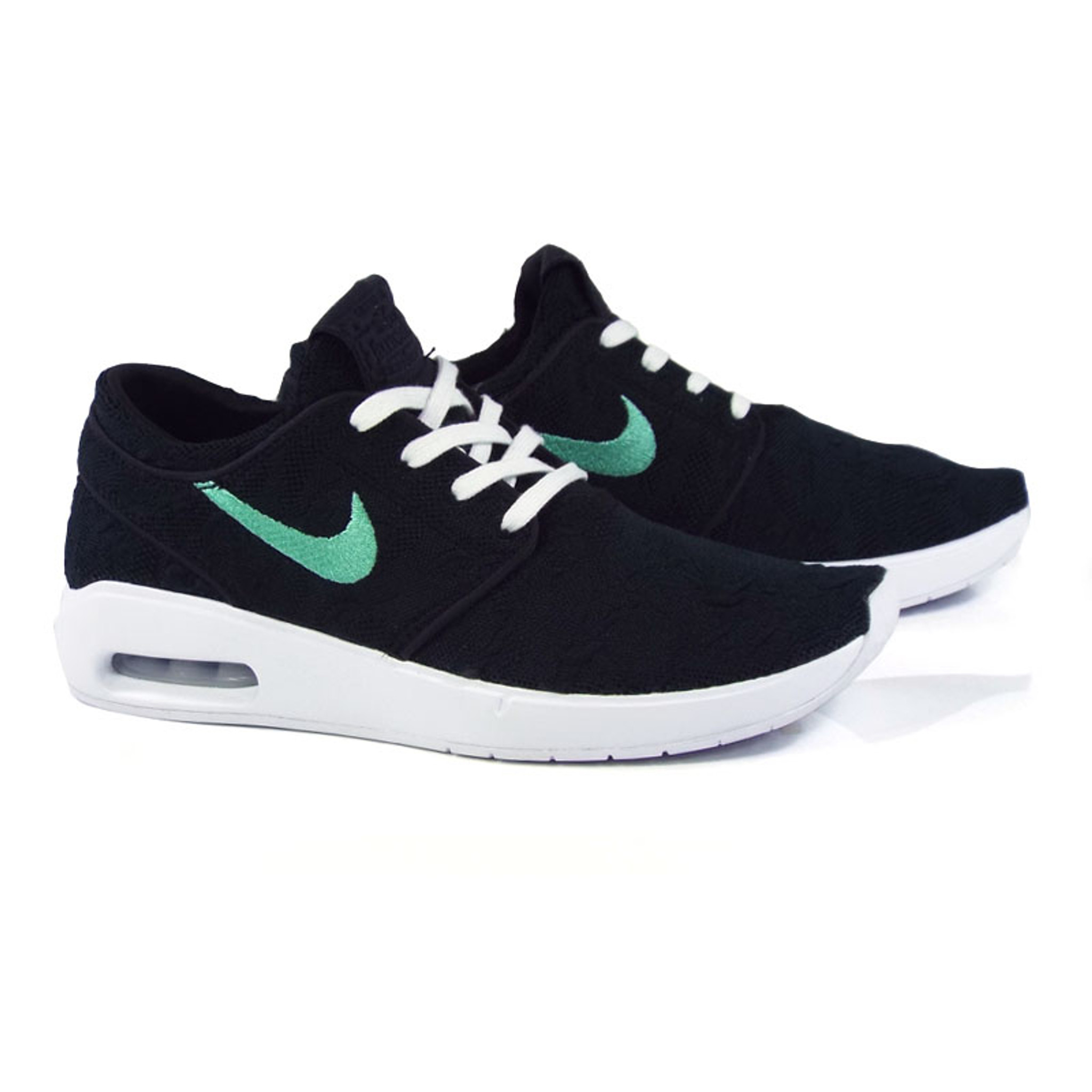 rencontrer cfec0 e6f8a Nike SB Janoski Air Max 2 Shoes - Black/Mint-Black