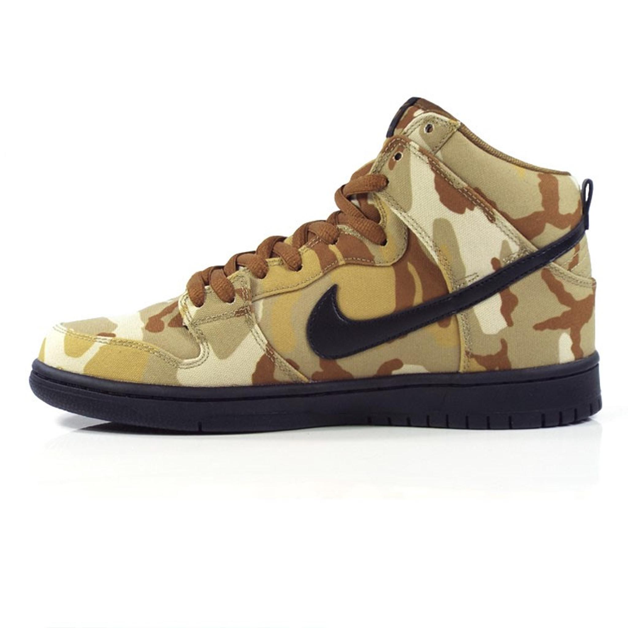 sale retailer f97fd 85f21 Nike SB Zoom Dunk High Pro Shoes - Parachute Beige/Black-Ale Brown