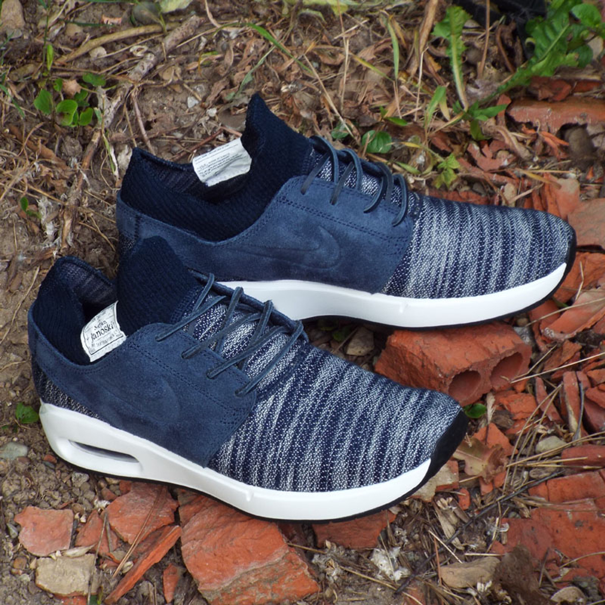 Nike SB Air Max Stefan Janoski 2 Premium Shoes ObsidianObsidian Summit White