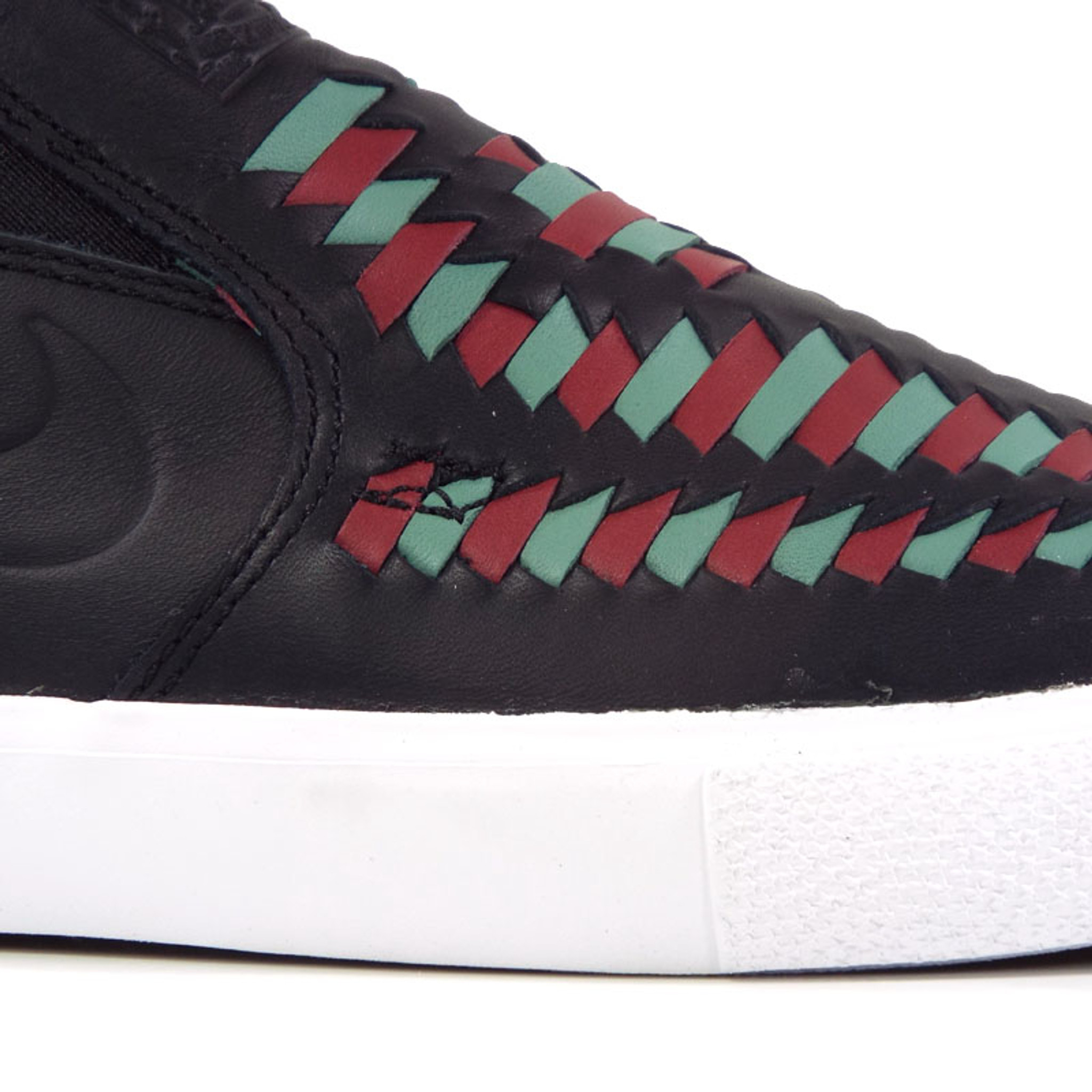 entire collection good texture discount shop Nike SB Zoom Janoski Slip Crafted RM Shoes - Black/Black-Bicoastal-Team Red