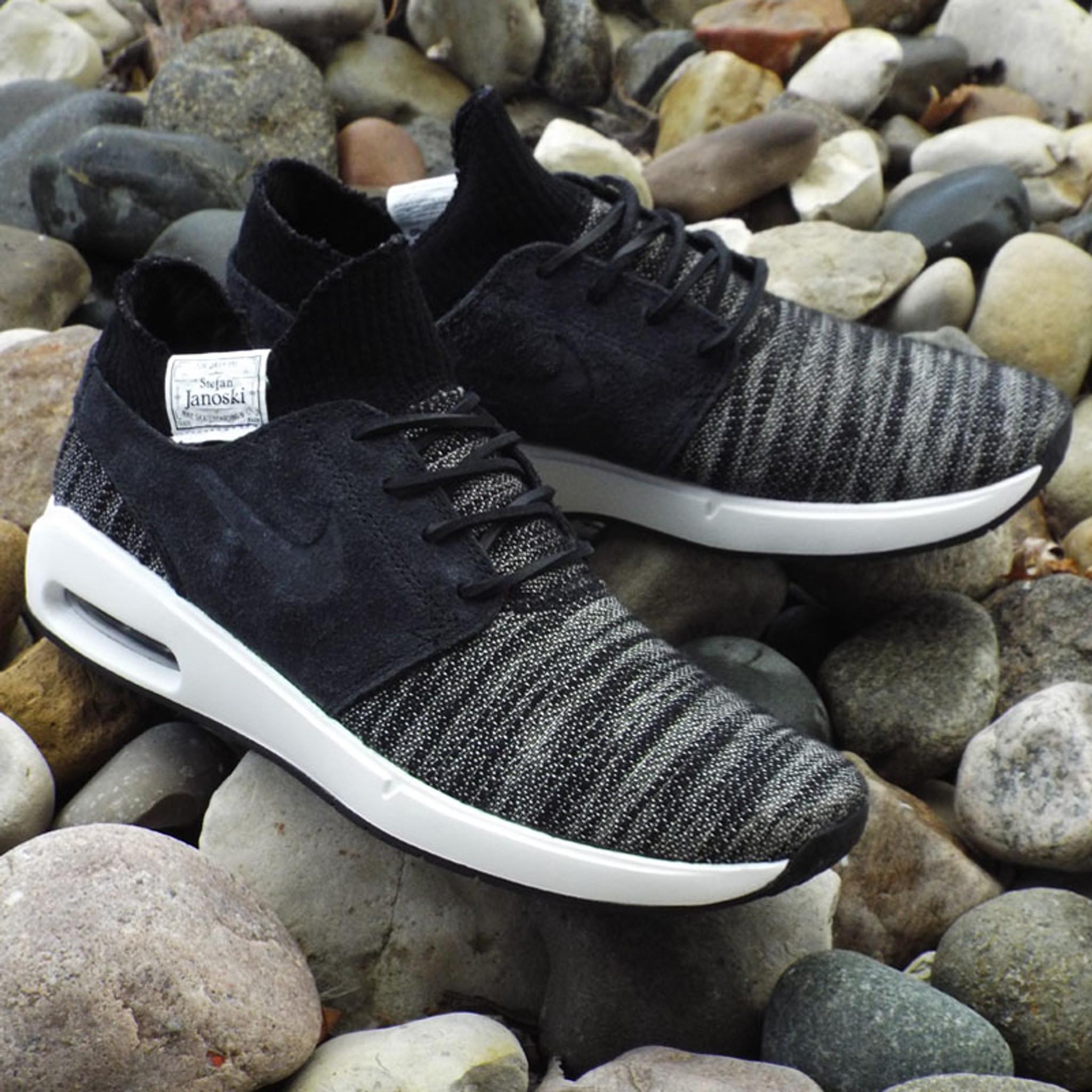 Nike SB Air Max Stefan Janoski 2 Premium Shoes BlackBlack Summit White