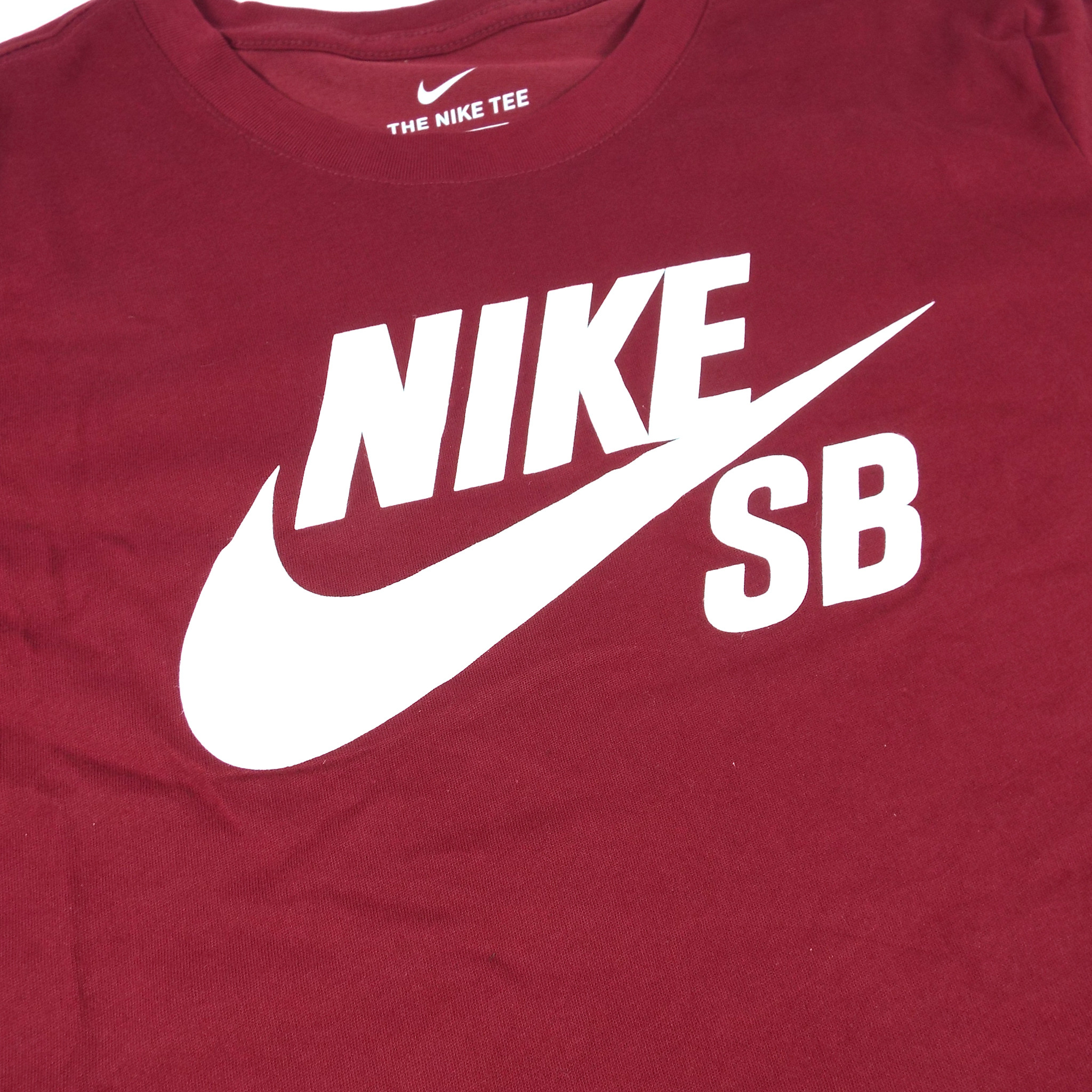 temperament shoes wholesale online differently Nike SB Logo Dri-Fit T-Shirt - Team Red