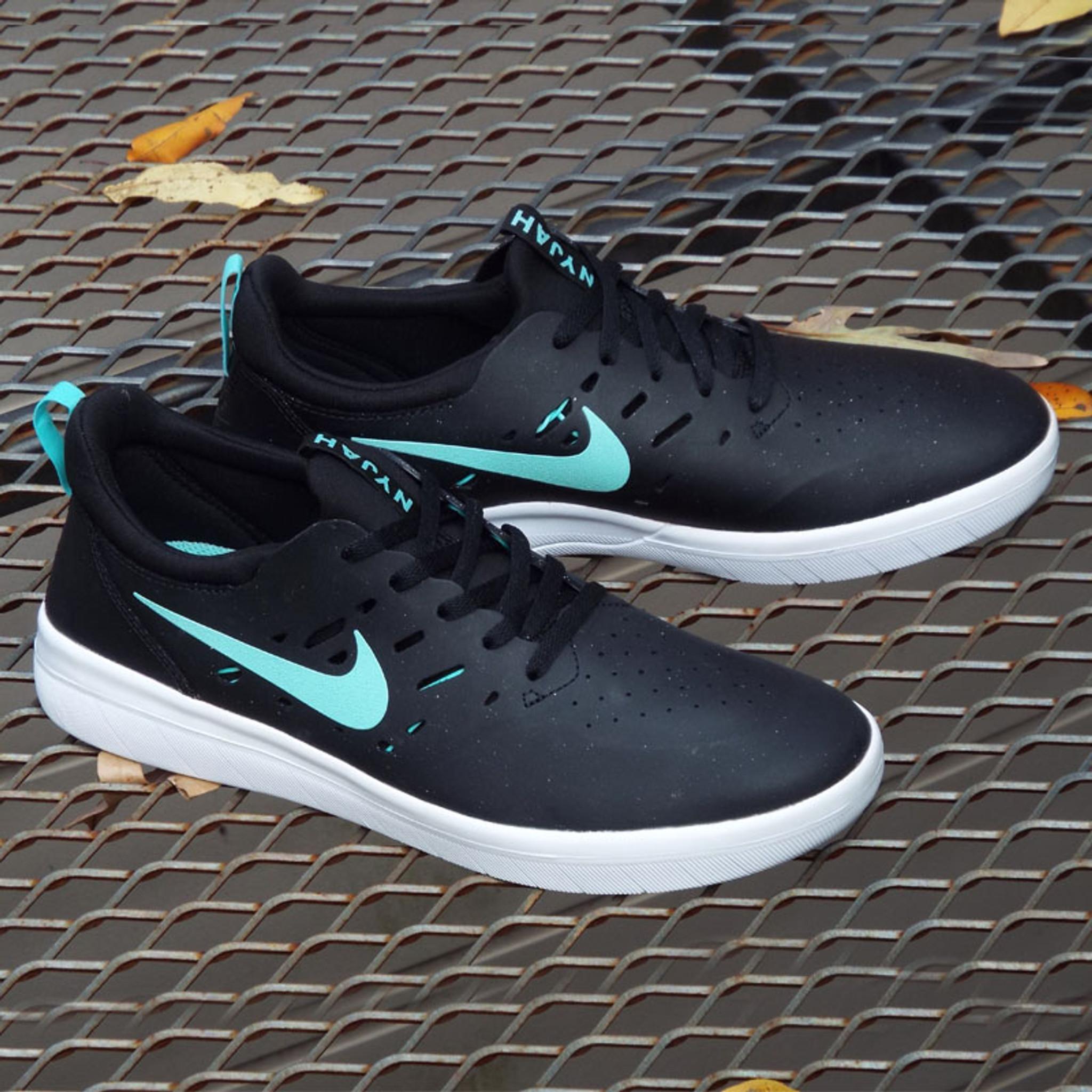 Nike SB Nyjah Free Shoe - Black