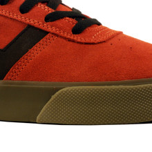 Huf Choice Shoes - Vermilion/Black