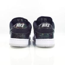 Nike SB Dunk Low Trd QS  (4/20 Galaxy) Shoes - Black/Black-White-Metallic Cool Grey