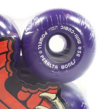 Powell Mini Cubic Purple Skateboard Wheels - 64mm