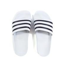 Adidas Originals Adilette Slides - White/Black
